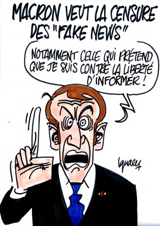"Ignace - Macron et les ""fake news"""