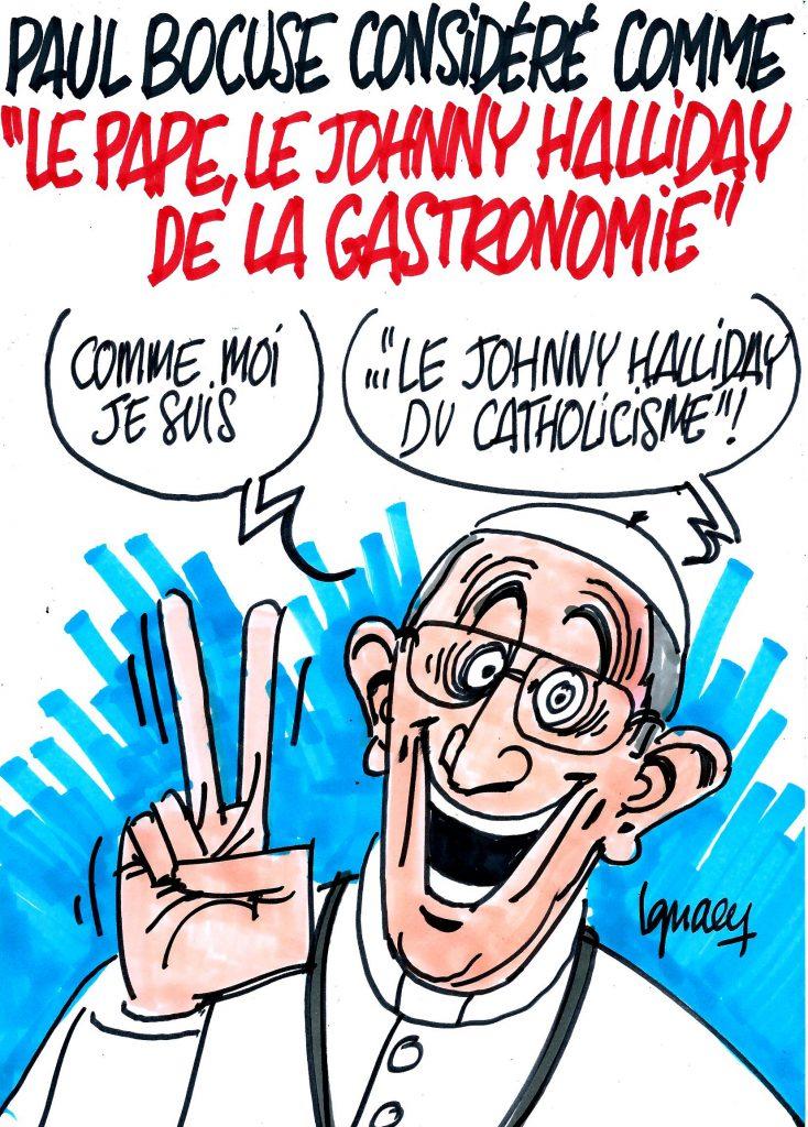 """Ignace - Paul Bocuse, """"Le pape et le Johnny Halliday de la gastronomie"""""""