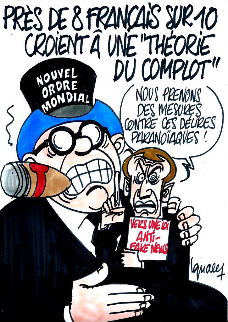 Ignace - 8 Français sur 10 croient à la théorie du complot
