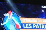 """Pas grand monde pour acclamer Florian Philippot qui voit en son parti un nouveau """"Front populaire"""" et fait référence à Robespierre"""