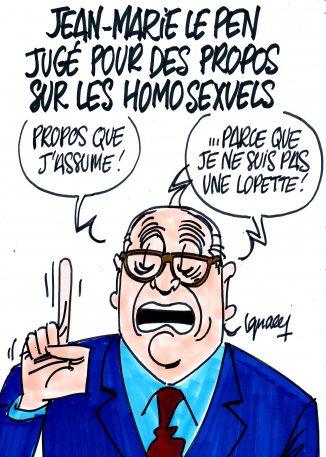 Ignace - Jean-Marie Le Pen homophobe ?