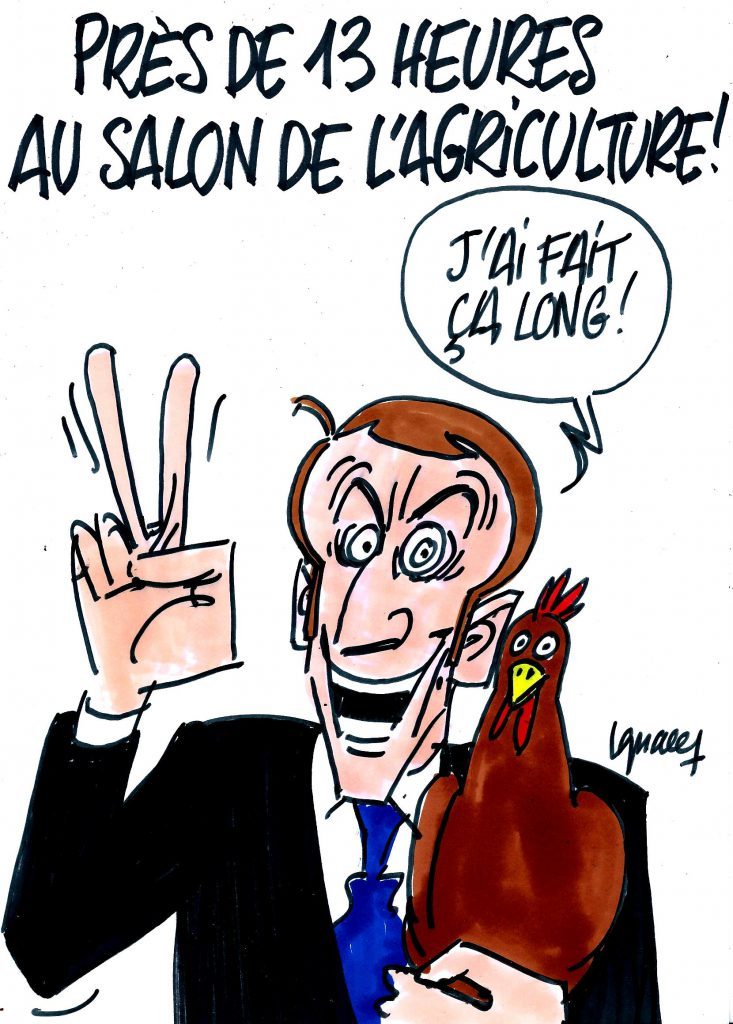 Ignace - Macron a fait salon