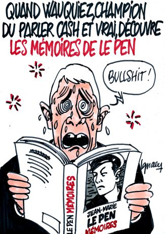 Ignace - Wauquiez et les Mémoires de Le Pen