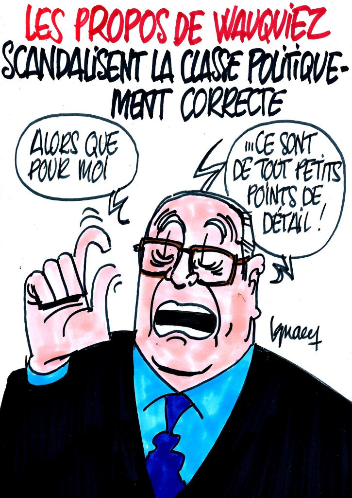 Ignace - Wauquiez scandalise