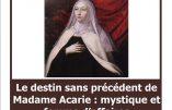 """5 mars 2018 à Paris – """"Madame Acarie : mystique et femme d'affaires"""""""