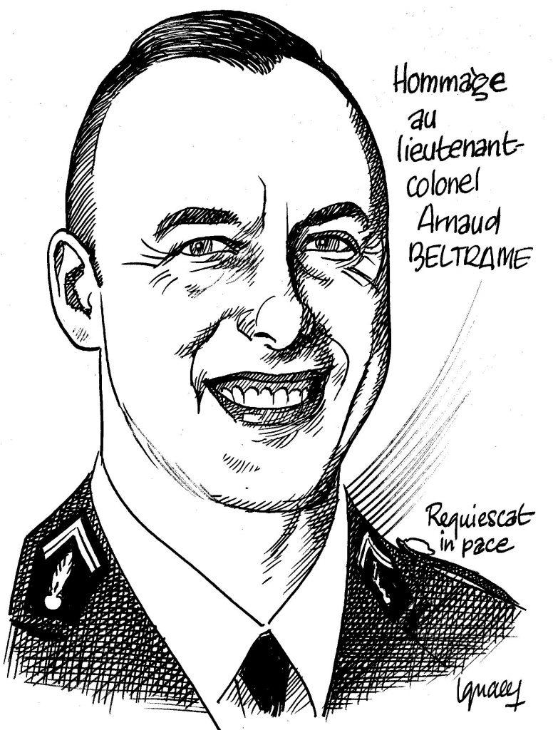 Ignace - Hommage au lieutenant-colonel Beltrame
