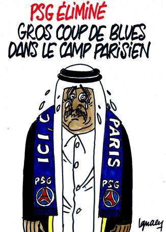 Ignace - PSG éliminé, gros coup de blues dans le camp parisien