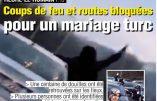 Belgique – Des Turcs bloquent l'autoroute, armes à la main, pour fêter un mariage