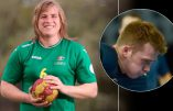 Un costaud devenu transgenre passe dans une équipe de football australien féminin