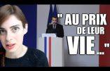 """Virginie Vota : """"Macron parle d'esprit de résistance ? Mais que fait la république contre l'occupant ?"""""""