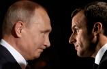Poutine met en garde Macron contre tout «acte irréfléchi et dangereux» en Syrie
