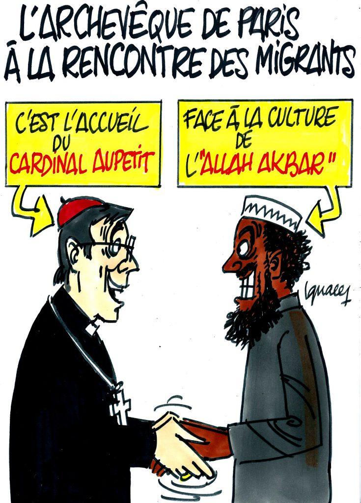 Ignace - Le cardinal de Paris pour l'accueil des migrants