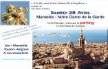 Samedi 28 avril à Marseille, Rosaire aux Frontières à Notre Dame de la Garde