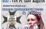 Le 13 mai 2018, retrouvez Epona et le Chœur Montjoie Saint-Denis à l'hommage à sainte Jeanne d'Arc