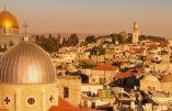 Jérusalem «capitale éternelle» d'Israël?