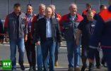 Russie: le pont reliant la Crimée au continent a été inauguré ce 15 mai 2018 par Vladimir Poutine