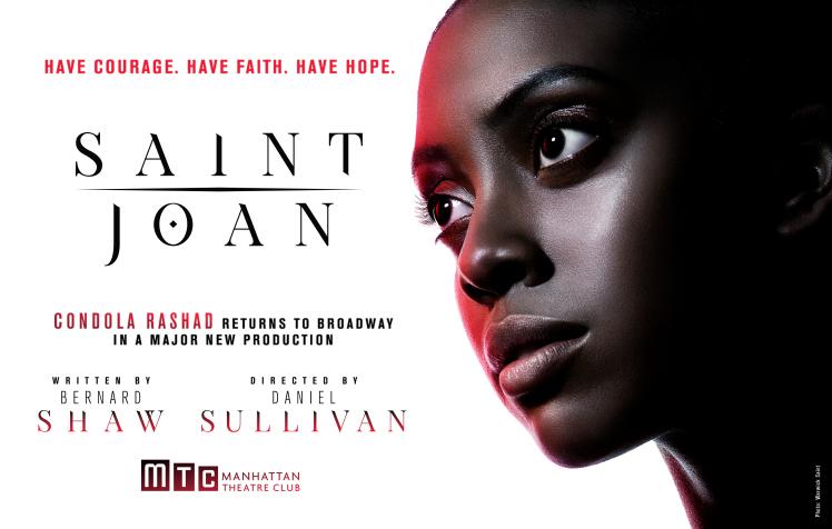 A Broadway Une Actrice Noire Incarne Le Role De Sainte Jeanne D Arc