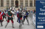 16 juin 2018 : Tournoi médiéval au Palais du Tau