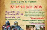23 et 24 juin 2018 – Fête médiévale de Coupvray