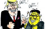 Ignace - Kim Jong-Un et Trump à Singapour
