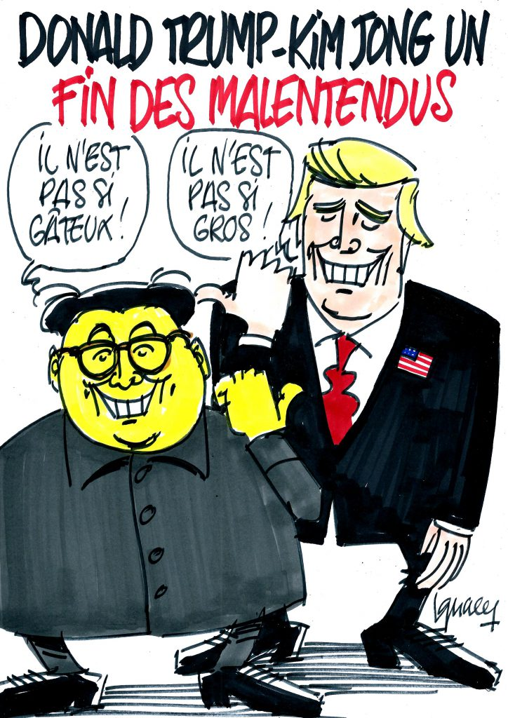 Ignace - Donald Trump - Kim Jong-Un : fin des malentendus