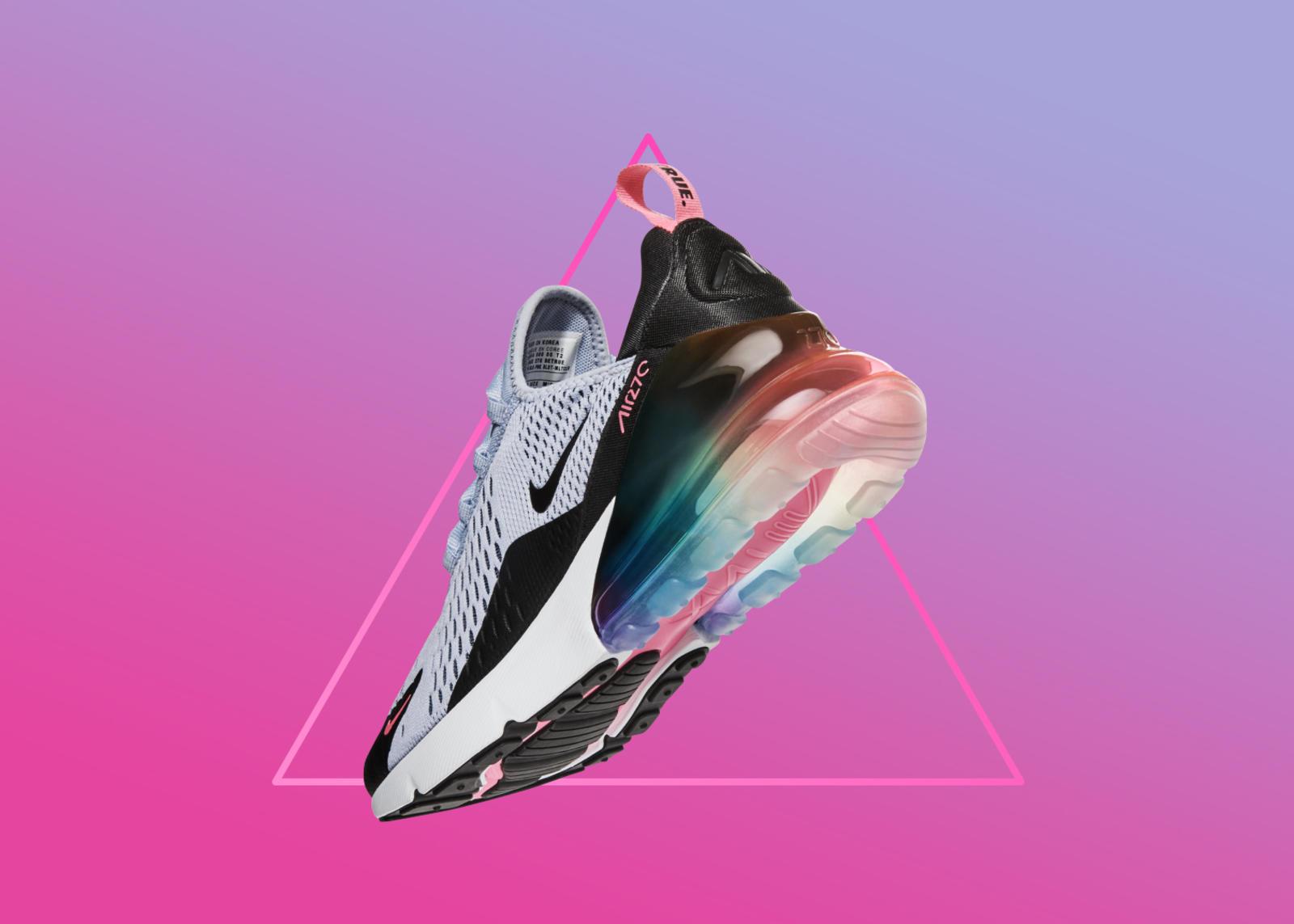 separation shoes d444e ec8eb ... sur le site américain Nike des chaussures, tee-shirts et casquettes de  la collection BETRUE 2018 aux couleurs prisées par le lobby LGBT sont en  vente.