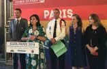 Anne Hidalgo reçoit en grande pompe 180 policiers LGBT