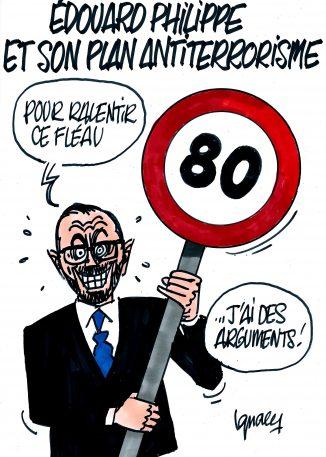Ignace - Édouard Philippe et son plan antiterroriste