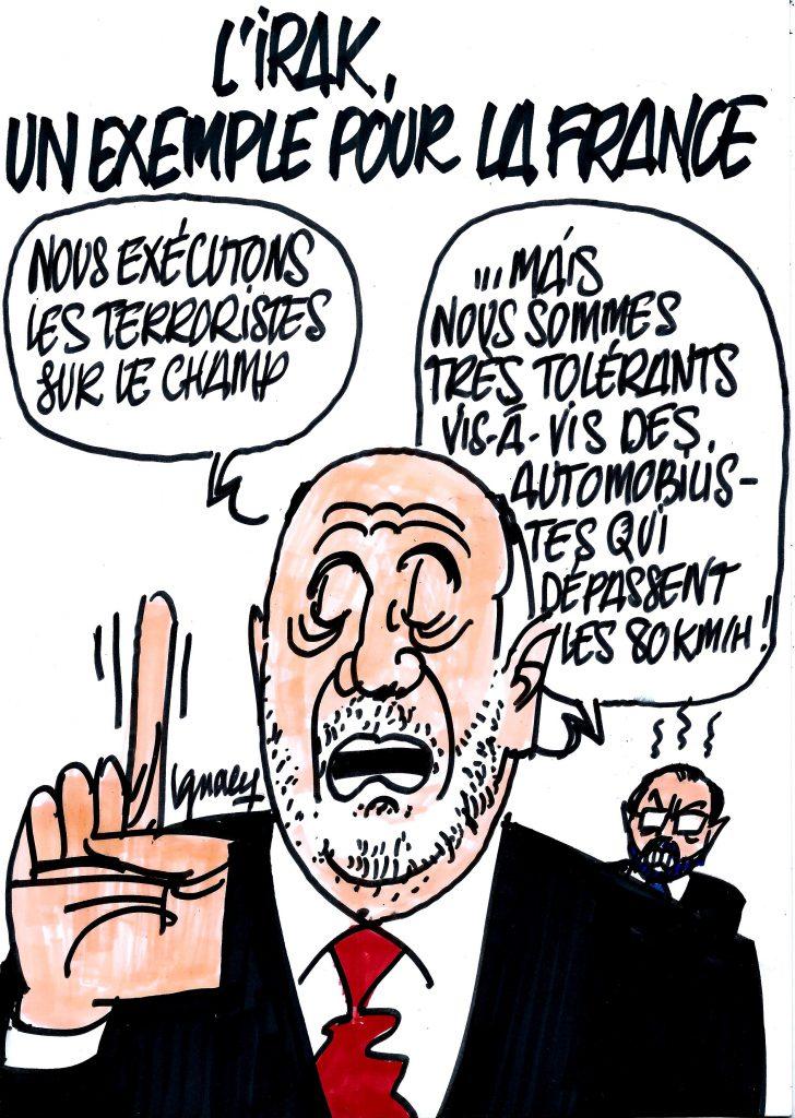 Ignace - L'Irak, un exemple pour la France