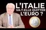 L'économiste Charles Gave en est convaincu : l'Italie va quitter l'euro