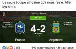 """Coupe du Monde : les Bleus considérés comme la dernière """"équipe africaine"""""""