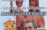 Retrouvez l'abbé Beauvais à l'université d'été de Civitas
