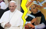 Peine de mort : la révolution bergoglienne contredit la Tradition de l'Eglise enseignée par saint Thomas d'Aquin