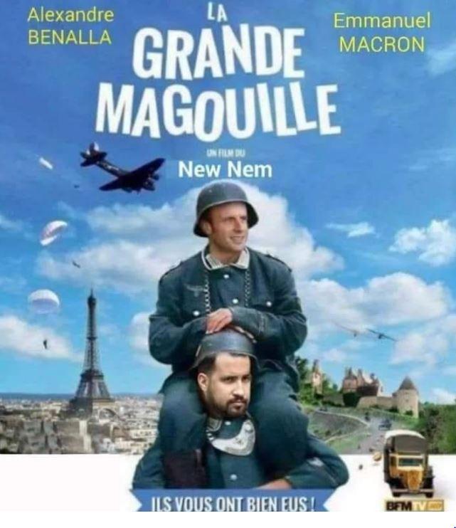 Qui est Emmanuel Macron ? - Page 23 Macron-benalla