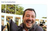 """Salvini aux immigrés : """"En Italie, on entre avec une permission, la fête est finie"""""""