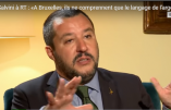 Interview de Matteo Salvini: Immigration, UE, Russie, Macron – Vidéo