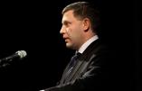 Donetsk: Une grande foule a rendu hommage à son chef, Alexandre Zakhartchenko, assassiné vendredi dans un attentat