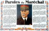 Images d'archives – Paroles du Maréchal Pétain