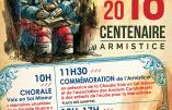 11 novembre 2018 – Centenaire de la Grande Guerre à Gréasque (Pays d'Aix)