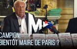 Marcel Campion en campagne électorale pour la mairie de Paris
