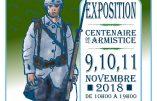 Exposition Centenaire de l'armistice les 9, 10 et 11 novembre à Saint-Sulpice