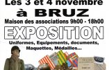 """3 & 4 novembre 2018 à Bruz (Bretagne) – Expo """"Armée française : un siècle de conflits"""""""