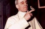 Hommage au Pape Pie XII rappelé à Dieu il y a 60 années