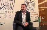 Salvini convaincu que les lobbies financiers internationaux ne peuvent accepter la présence de son parti au gouvernement