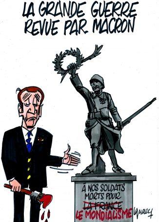 Ignace - La Grande Guerre revue par Macron