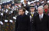 En Belgique, Macron soutient le pacte de l'ONU sur les migrations