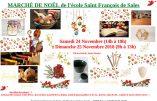 24 & 25 novembre 2018 – Marché de Noël à Rouen