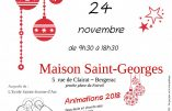 24 novembre 2018 – Marché de Noël à Bergerac