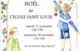 17 & 18 novembre 2018 – Vente de Noël de l'Ecole Saint Louis à Paris
