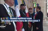A Verdun, un ancien combattant demande à Macron de virer les sans papiers !